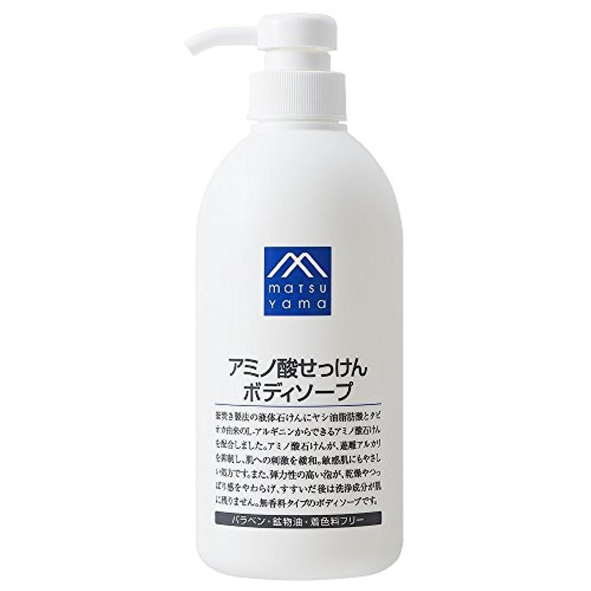 水分流ホステスM-mark アミノ酸せっけんボディソープ