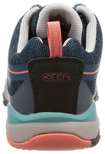 KEEN キッズスニーカー テラドーラ ロー ウォータープルーフ Aqua Sea Coral US 12 18.5 cm