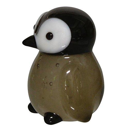 かわいい 手作り ガラス細工 エンペラーペンギン ヒナ CYK1774