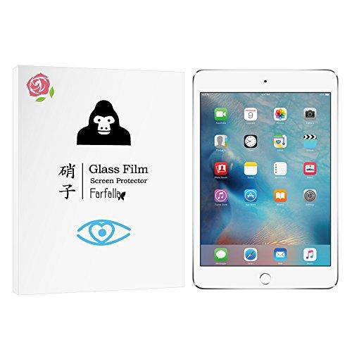 Farfalla iPad mini 4[ブルーライトカット / CORNING® GORILLA® GLASS 5 使用 / 硬度9H / オイルコーティング / 防指紋 / 2.5Dラウンドエッジ加工 / 飛散防止]ガラスフィルム (0.3mm)
