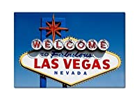 Welcome to Fabulous Las Vegas Nevada Sign Fridge Magnet by Classical Creations