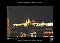 Prague VI 2019 - Édition noire - Calendrier mural Timokrates, calendrier photo, calendrier photo - DIN A4 (30 x 21 cm)