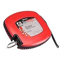 DSLE ディスクスチールテープメジャー、テープメジャー、大規模エンジニアリング測定ルーラー30M、50M、レッド (Color : Red, Size : 30m)