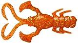 JACKALL(ジャッカル) ワーム ベビードラゴン クロダイバージョン 2インチ オレンジゴールドフレーク