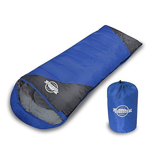 [リベルタ]LIBERTA 寝袋 シュラフ スリーピングバッグ 封筒型 コンパクト 軽量 丸洗い 最低使用温度0度 収納袋 4カラー