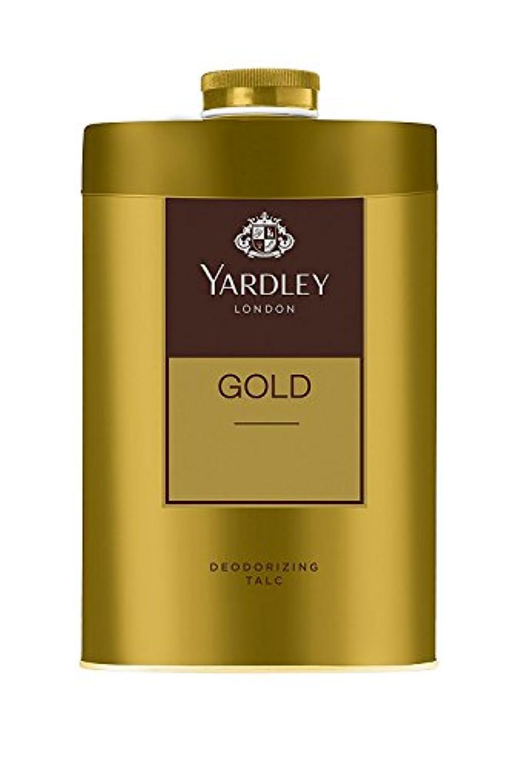 領域マウント脚Yardley London - Gold Deodorizing Talc for Men, 250g