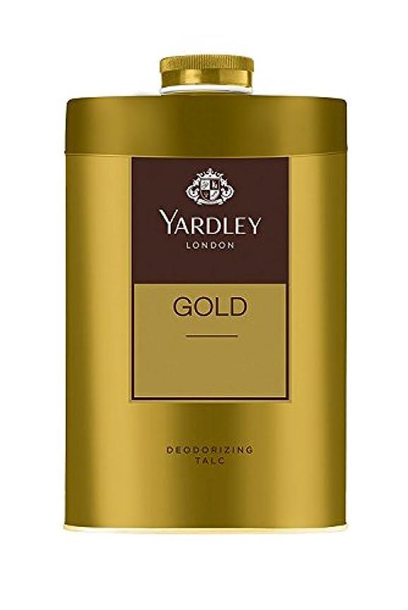 バーゲン光電不格好Yardley London - Gold Deodorizing Talc for Men, 250g