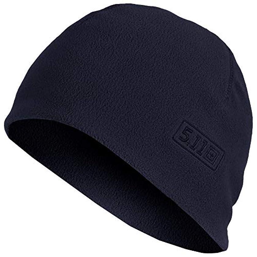 動くラバ売上高5.11Tactical ワッチキャップ フリース帽子 89250 S/Mサイズ ダークネイビー