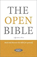 The Open Bible: New King James Version, Red Letter Edition (Signature)