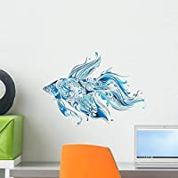Tropical Fish Wall Decal by Wallmonkeys Peel and Stick Graphic (18 in W x 13 in H) WM244041 [並行輸入品]