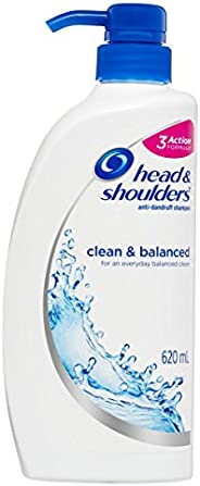 Head & Shoulders Clean and Balanced Anti-Dandruff Shampoo, 6