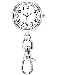 懐中時計 時計 キーリング付 小型 シンプル アンティーク レディース ポケットウォッチ看護師 懐中時計 男女兼用