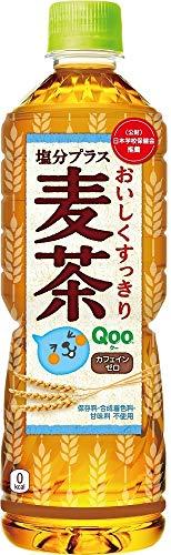 ミニッツメイド Qoo(クー) 塩分プラス麦茶 600ml×24本 PET