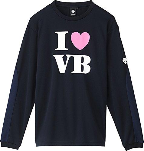 [해외](데 쌍트) DESCENTE 배구 긴팔 사례 셔츠 DVA-5640L [주니어]/(Descente) DESCENTE volleyball long-sleeved practice shirt DVA-5640L [junior]
