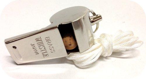 真鍮呼子笛 ホイッスル(1個)コルク入 日本製 WH-300...