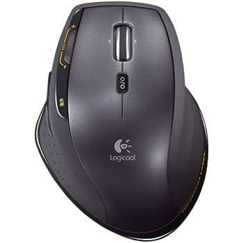 LOGICOOL ワイヤレスレーザーマウス MicroGearスクロールホイール搭載 MX-1100