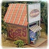 Hoキットlaser-cut Papa Lou 's Cigar Shop
