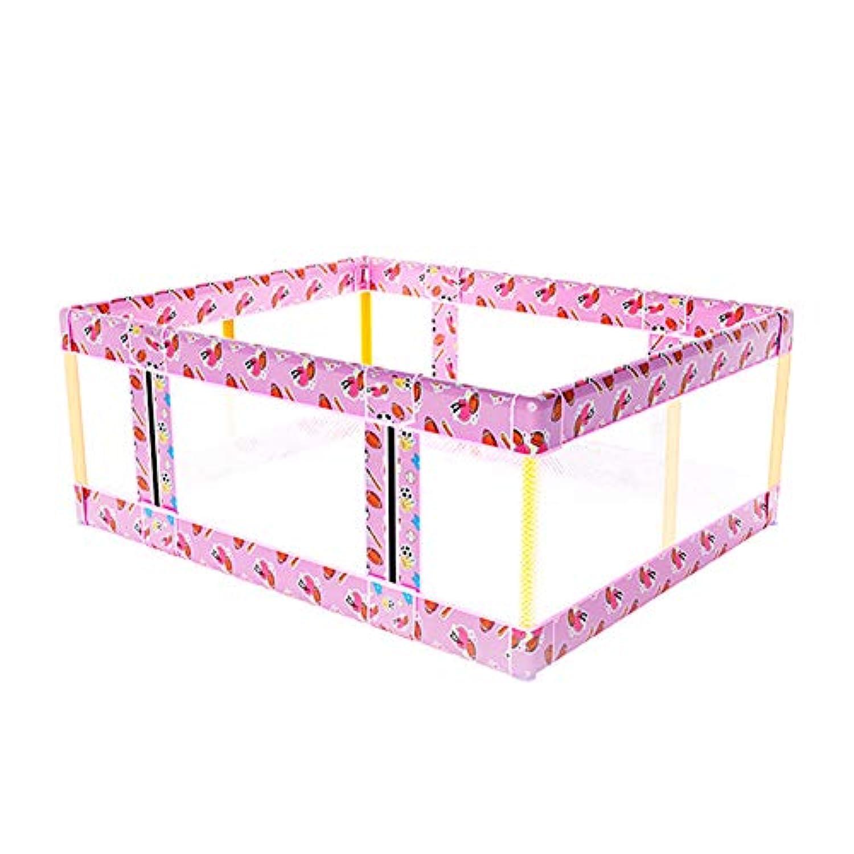 折り畳み式幼児用ドアのサイズ変更可能なPlayardポータブルセーフティトラベリングヤードアンチロールオーバーを再生キッズベッドレール (サイズ さいず : 200×200cm)