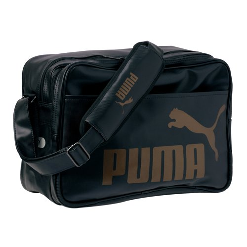 PUMA(プーマ) バッグ TS マット タイプA ショルダー M ブラック/ゴールド 7