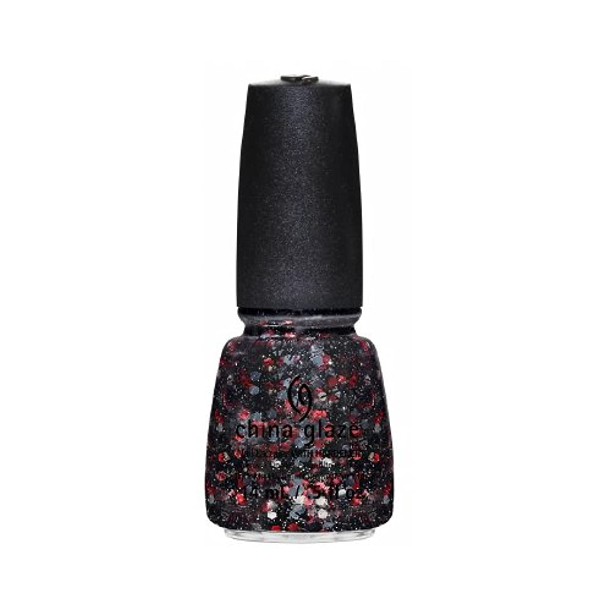 盗難死の顎黒人(3 Pack) CHINA GLAZE Nail Lacquer - Cirque Du Soleil Worlds Away 3D - Get Carried Away (並行輸入品)