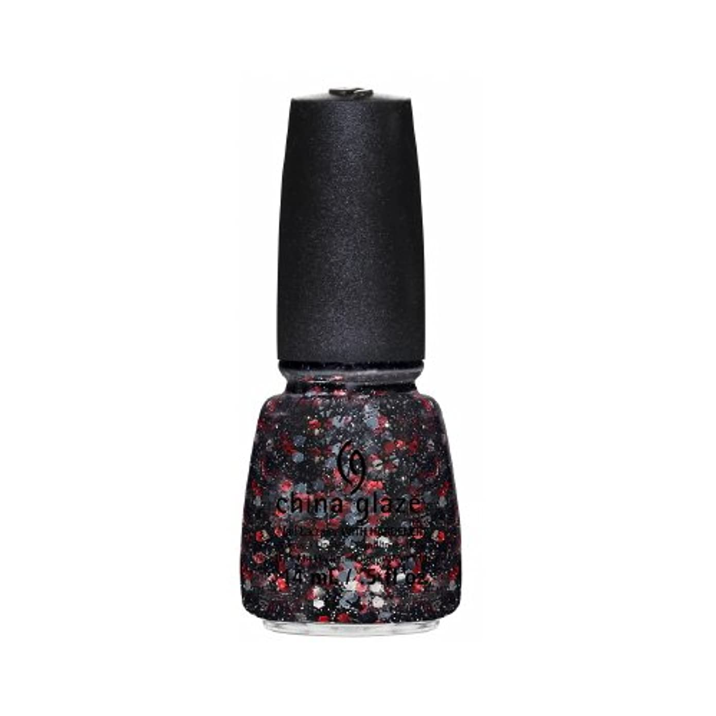 CHINA GLAZE Nail Lacquer - Cirque Du Soleil Worlds Away 3D - Get Carried Away (並行輸入品)