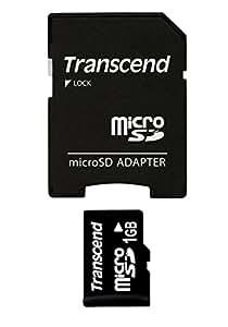 Transcend microSDカード 1GB TS1GUSD (Trans-Flashカード)