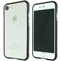NeedNetwork iPhone8 iPhone7対応 超軽量アルミニウム バンパーケース レンズカバー (iphone7, ブラック)