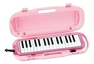 SUZUKI スズキ 鍵盤ハーモニカ メロディオン アルト パステルピンク MXA-32P