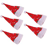KESOTO 人形 ミニ クリスマスの帽子 ドール サンタ帽子 クリスマス サンタ 帽子 男女兼用 30cmバービー人形に適用