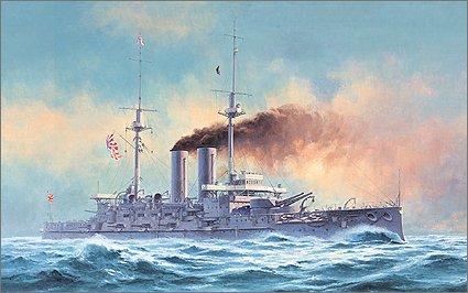 """1/350 日本海軍 戦艦 三笠 """"日本海海戦"""""""