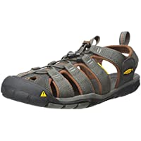 Keen Men's Clearwater CNX Athletic and Outdoor Sandals, Grey (Raven/Tortoise Shell), 10.5 AU