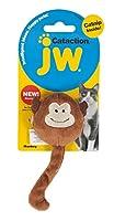 JW Pet Cat Plush Catnip Monkey Infused Catnip Fun Interactive Durable Entice Toy