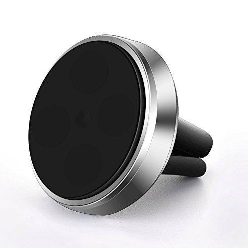 Flexzionユニバーサルエアベント磁気マウントホルダー–スティック車のダッシュボード電話ラックwith Fast swift-snapテクノロジー360回転for iPhone 7、8プラス、iPhone X Samsung GPSデバイスとミニタブレット