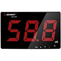Signstek デシベル計測器 騒音計 音量測定器 デジタル騒音レベルメーター 便利 騒音測定器 30~130 dB 画面見やすい