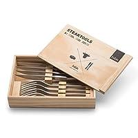HöfatsCutlery、ステーキツール、ステンレス鋼、24.5 x 16.5 x 4.5 cm、030501