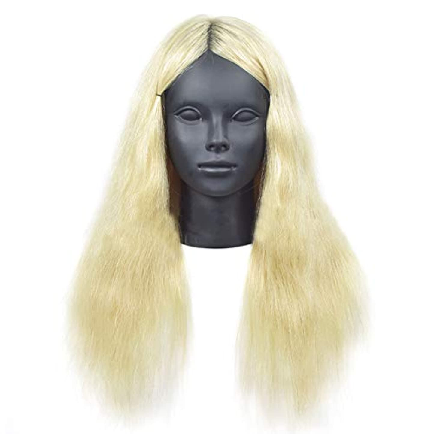王位機関車アマゾンジャングルリアル人間の髪教育ヘッドパーマ髪織り髪モデル髪染め理髪ダミーヘッド学校教育ヘッドモデル
