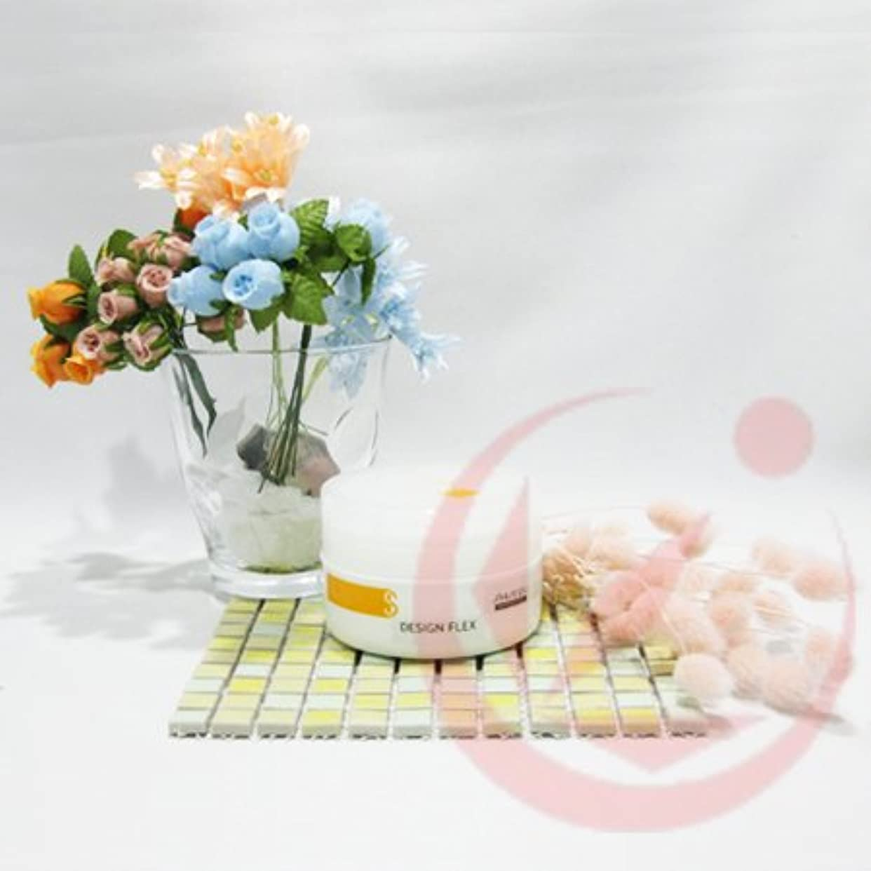 フルーティーイライラする長方形資生堂 デザインフレックス エアテイスト ワックス(ソフト) 90g