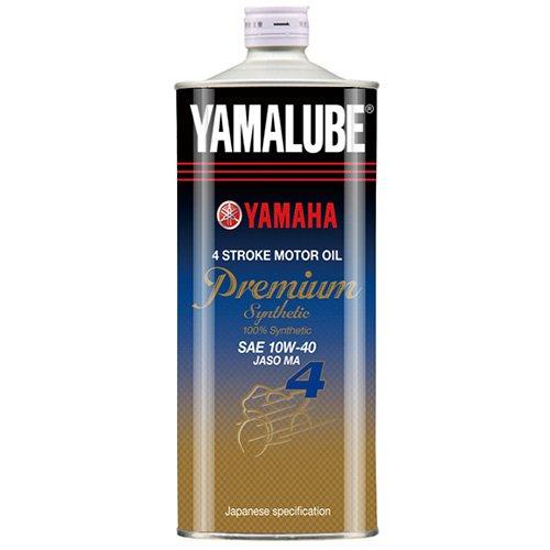 ヤマハ(YAMAHA) 二輪車用エンジンオイル ヤマルーブ プレミアムシンセティック MA 10W-40 1L 90793-32152