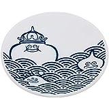 ドラゴンクエスト スマイルスライム 和シリーズ 豆皿 スライム青海波