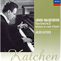 ベートーヴェン: ピアノ・ソナタ 第32番 ディアベッリの主題による33の変奏曲