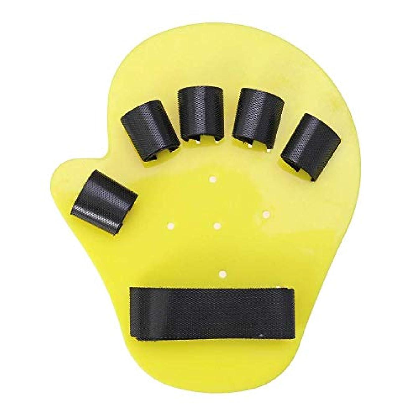 愛撫カヌー予防接種する指の添え木は指をまっすぐにし、トリガージョイント保護用の調整可能な指の添え木指緩衝カフの炎症治療,LeftHand