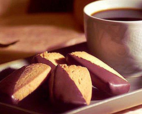 【Cookie Corner】 ハワイアン マカダミアナッツ ショートブレッド ダークチョコレート 30枚入 並行輸入品