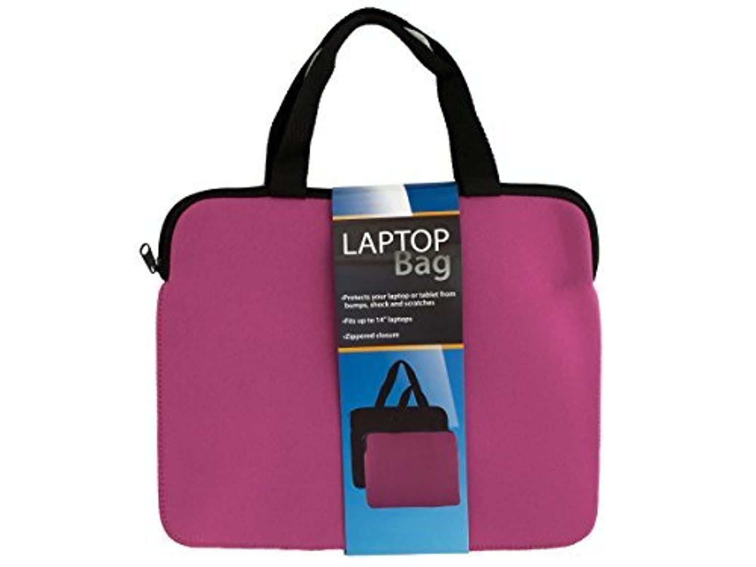 Kole Imports Neoprene Laptop Bag with Handles (OD408) [並行輸入品]