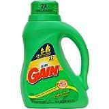 ウルトラ ゲイン オリジナル フレッシュ リキッド 1.47L(1470ml) 液体洗剤 洗濯洗剤 Ultra Gain Liquid Laundry Detergent Original Fresh 50oz ゲインの柔軟剤にはゲインの洗濯用洗剤ですね。 強力 ランドリーデタージェント 本品6本まで1配送先につき1個口の送料です。ケースの入数は6本です。
