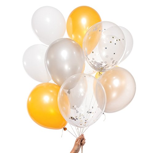 スパイス(SPICE) メタリック ミックス パーティー バルーンズ Metallic Mix Party Balloons PB12-WM