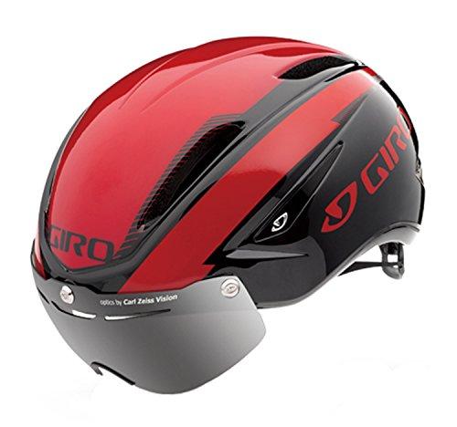 GIRO(ジロ) サイクルヘルメット AIR ATTACK SHIELD BrightRed/ Black L 7066390