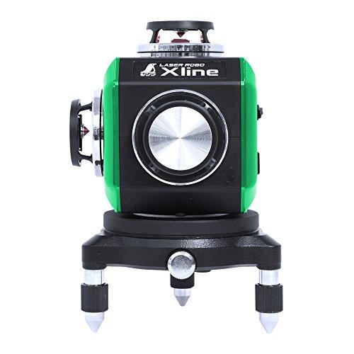 シンワ測定 レーザーロボ X line グリーン フルライン...