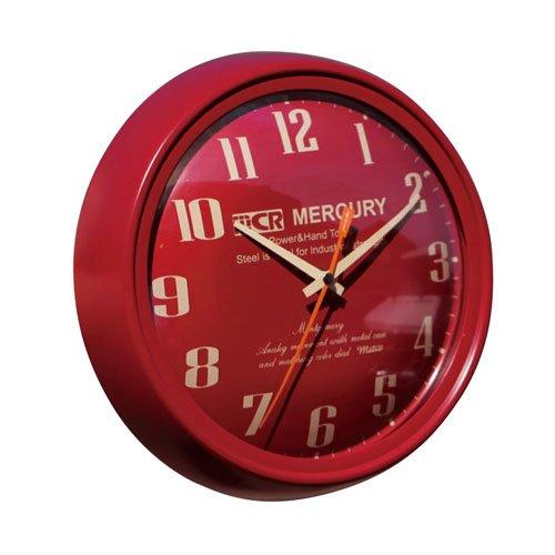 MERCURY マーキュリー Montgomery モンゴメリー ウォールクロック 掛け時計 壁掛式時計 バーガンディ