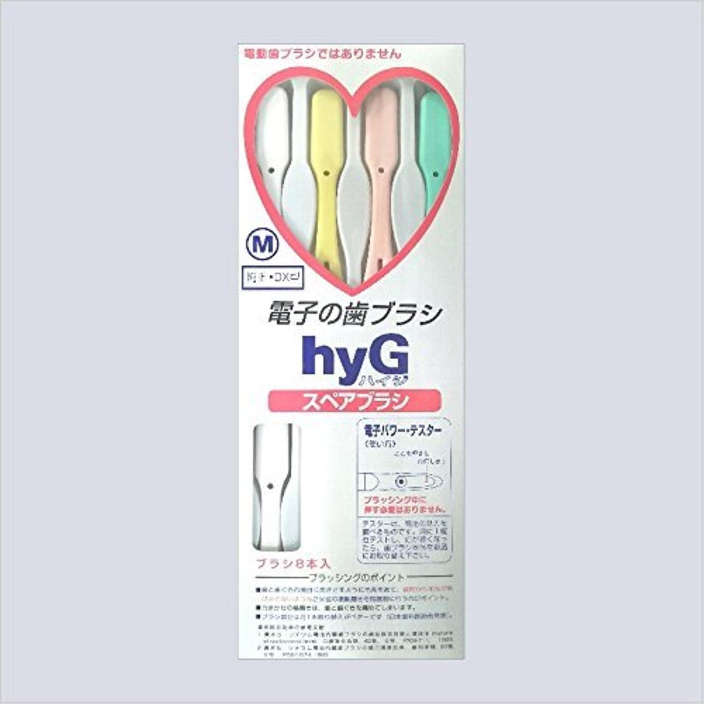 腸離婚注入する電子の歯ブラシ ハイジ(hyG)?スペアブラシ <ブラシの硬さ:Hかため> (※こちらは「スペアブラシ」です )?hyG-DX型