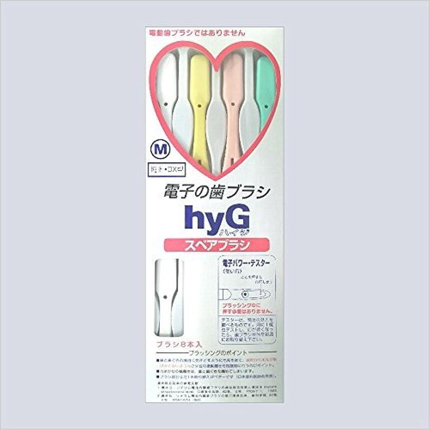 そっと追記メトロポリタン電子の歯ブラシ ハイジ(hyG)?スペアブラシ <ブラシの硬さ:Hかため> (※こちらは「スペアブラシ」です )?hyG-DX型